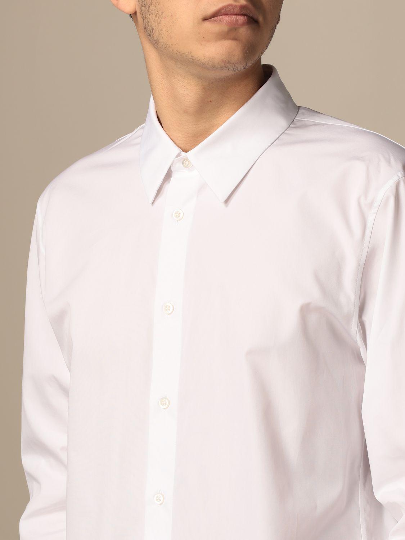 Camicia Jil Sander: Camicia classica Jil Sander con collo italiano bianco 4