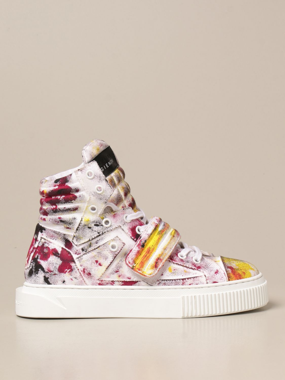 Sneakers Gienchi: Sneakers Hypnos Gienchi in tessuto multicolor fantasia 1