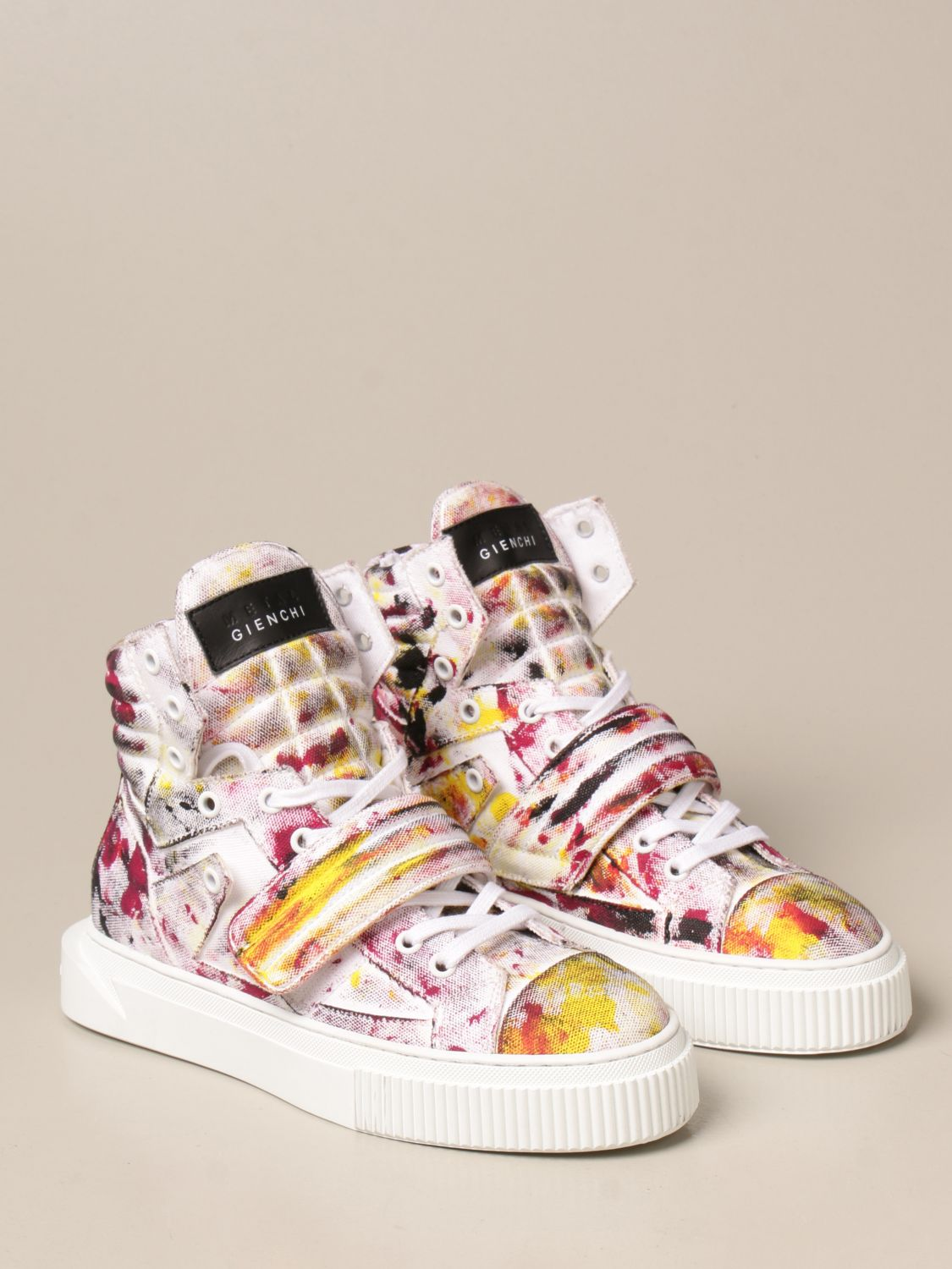 Sneakers Gienchi: Sneakers Hypnos Gienchi in tessuto multicolor fantasia 2