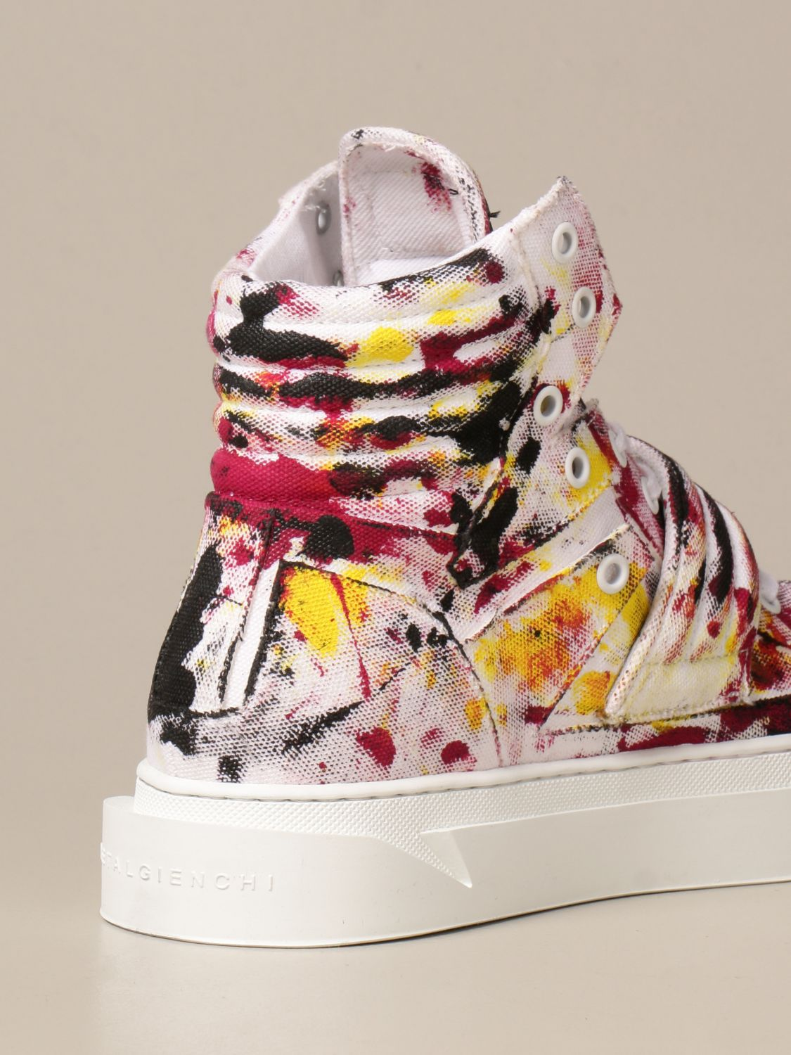 Sneakers Gienchi: Sneakers Hypnos Gienchi in tessuto multicolor fantasia 3