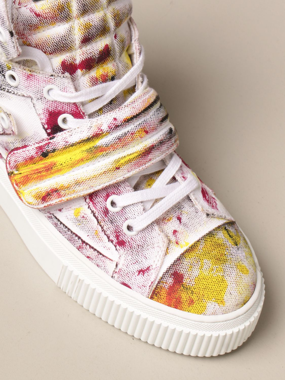 Sneakers Gienchi: Sneakers Hypnos Gienchi in tessuto multicolor fantasia 4