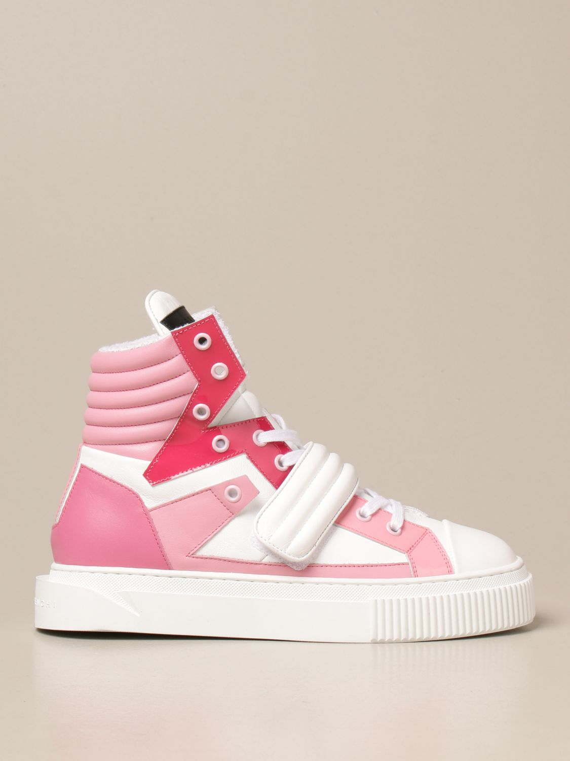 Sneakers Gienchi: Sneakers Hypnos Gienchi in pelle fantasia 1