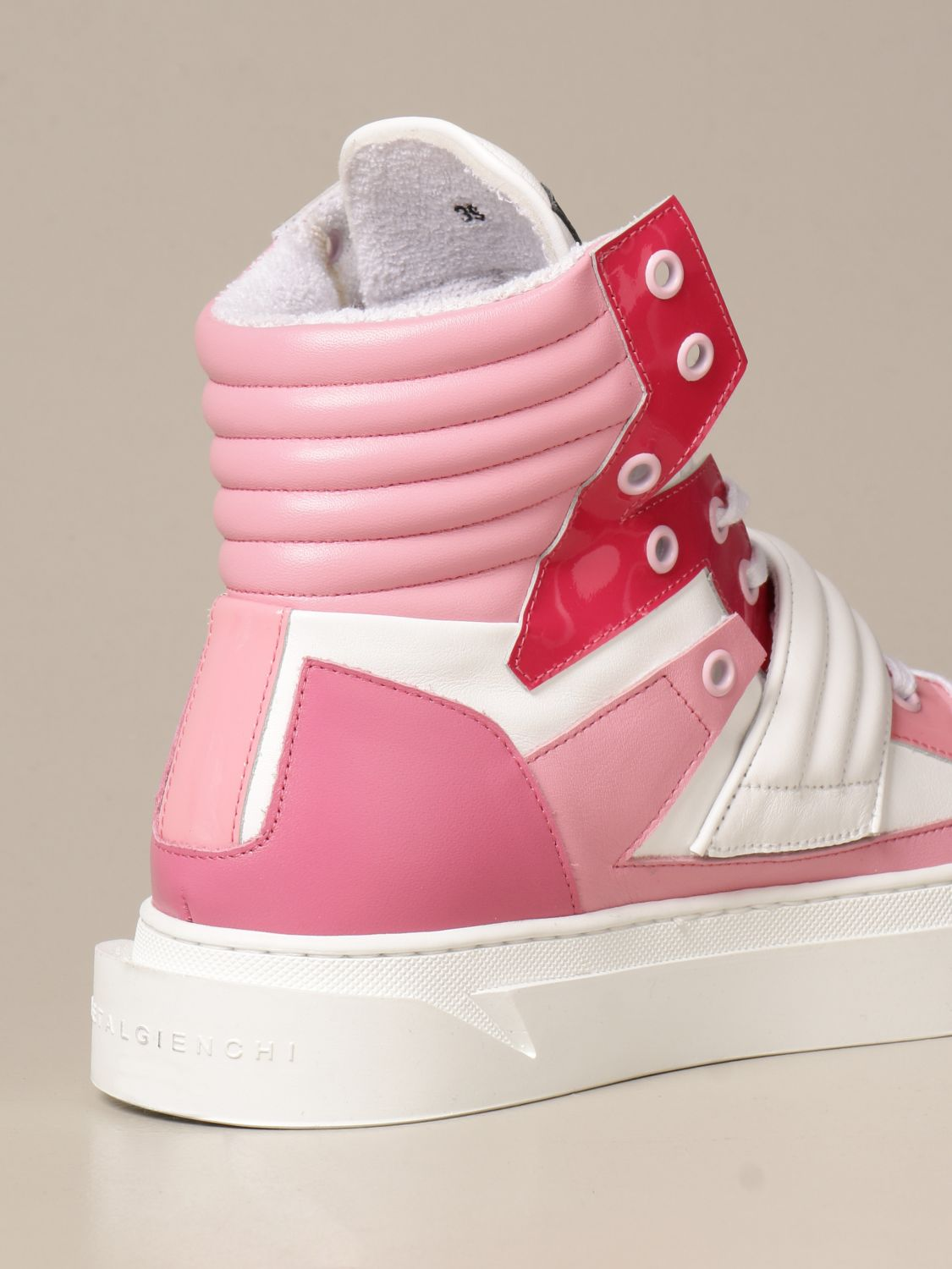 Sneakers Gienchi: Sneakers Hypnos Gienchi in pelle fantasia 3