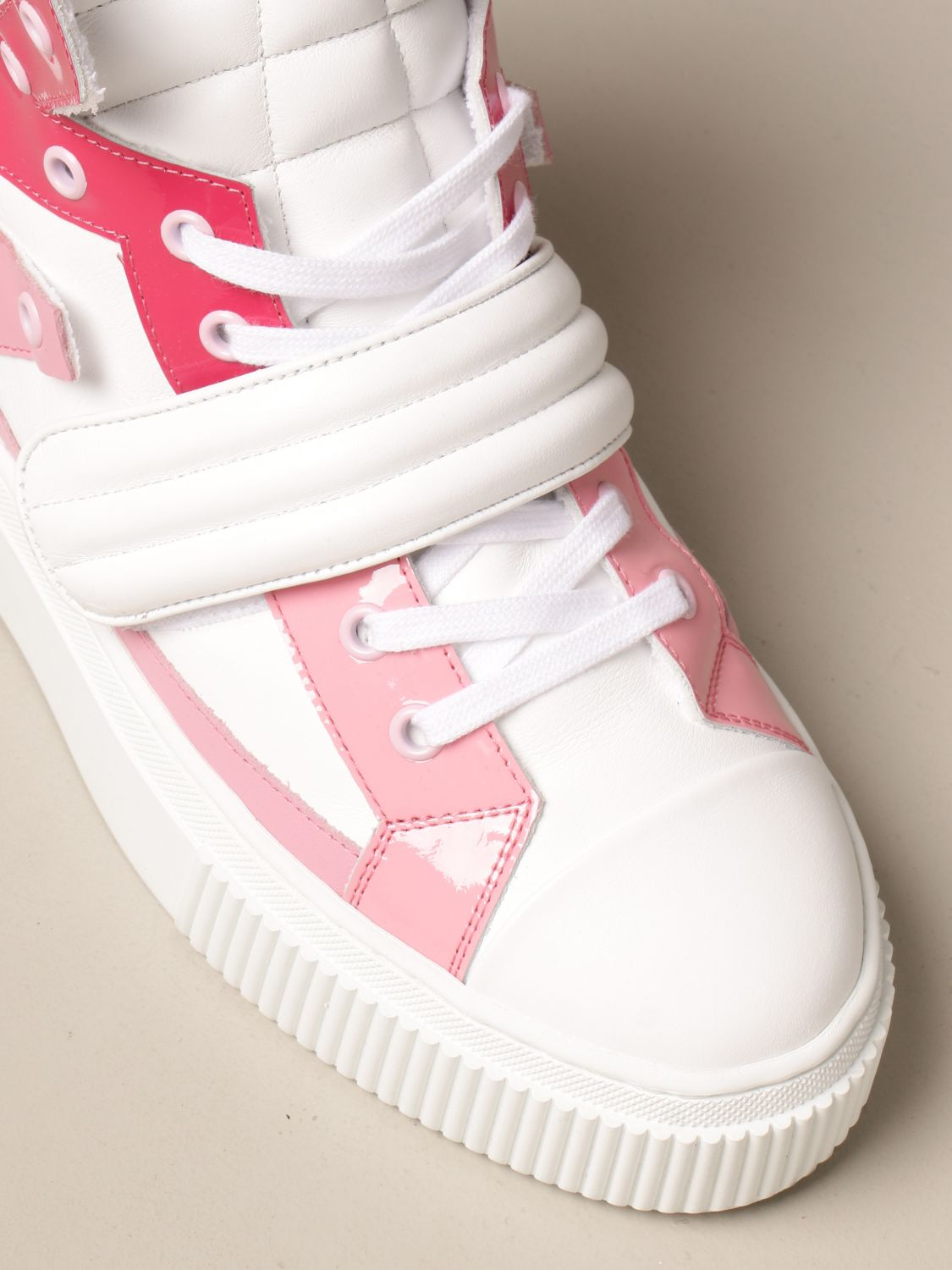 Sneakers Gienchi: Sneakers Hypnos Gienchi in pelle fantasia 4