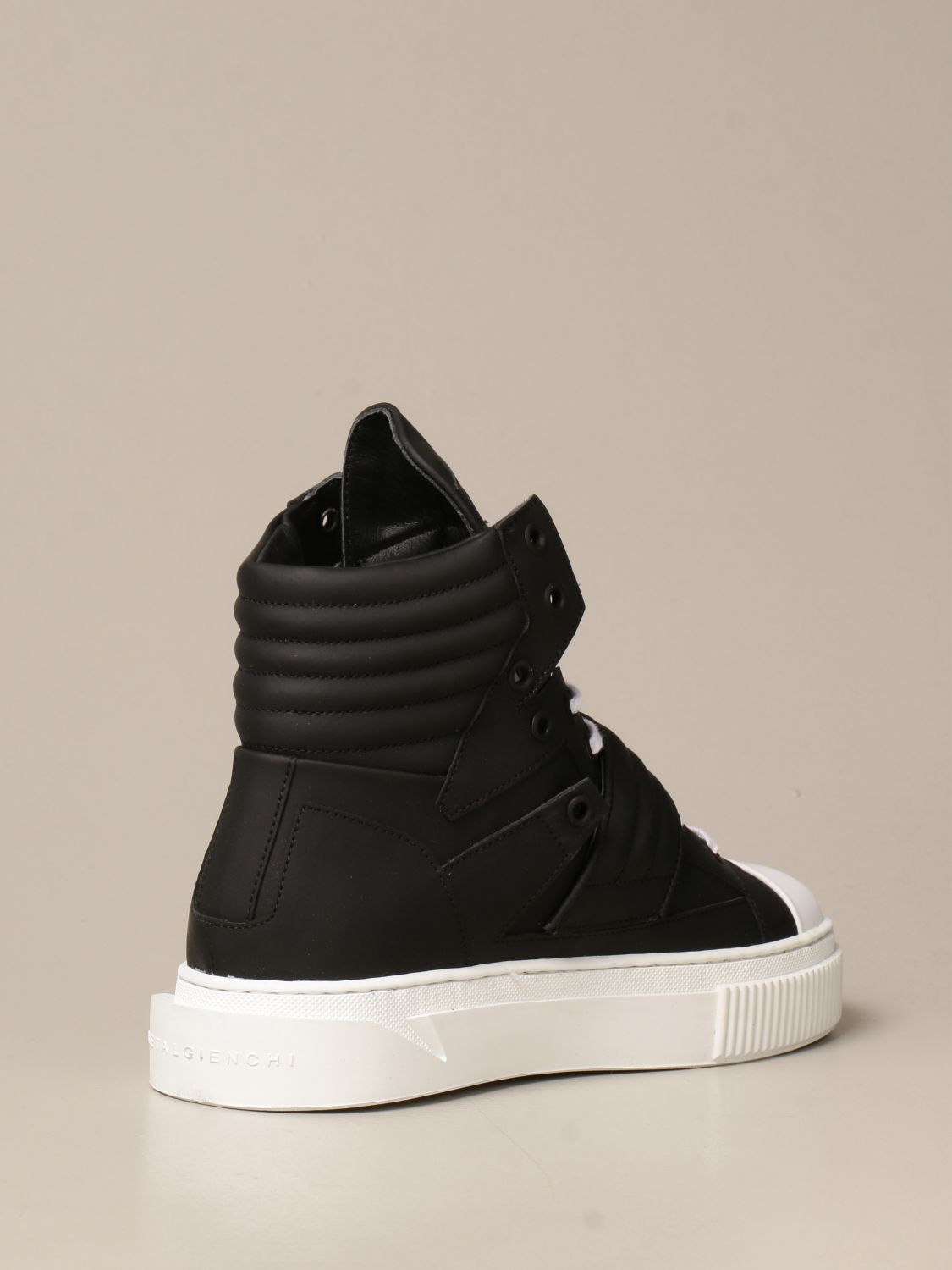 Sneakers Gienchi: Sneakers Hypnos Gienchi in pelle gommata nero 3