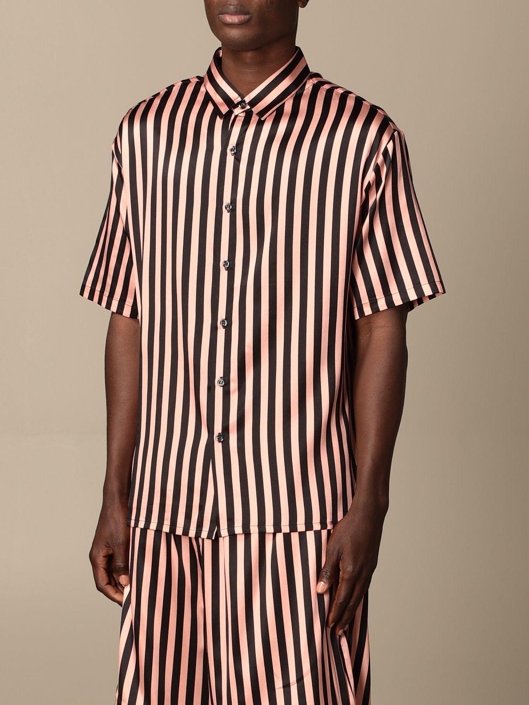 Camisa Laneus: Camisa hombre Laneus rosa 4