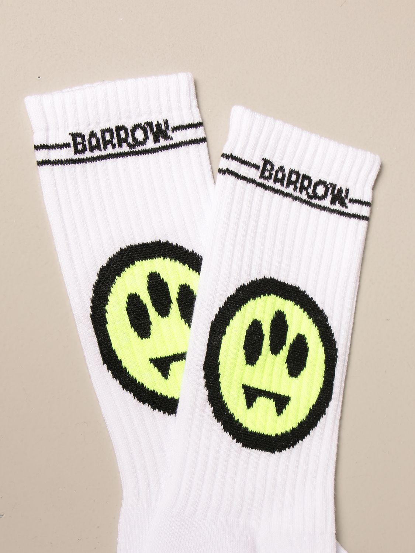 Calcetines Barrow: Calcetines hombre Barrow blanco 2