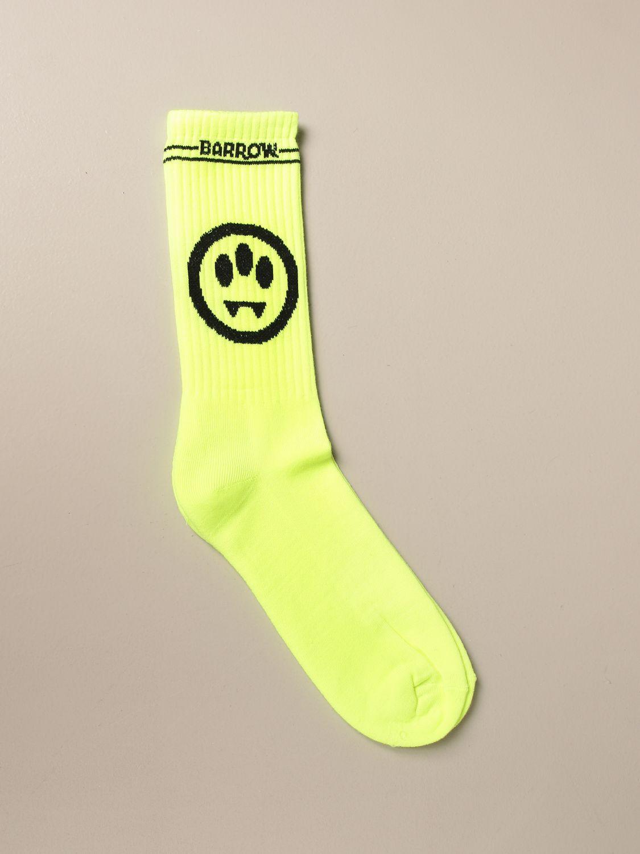 Socks Barrow: Socks men Barrow yellow 1