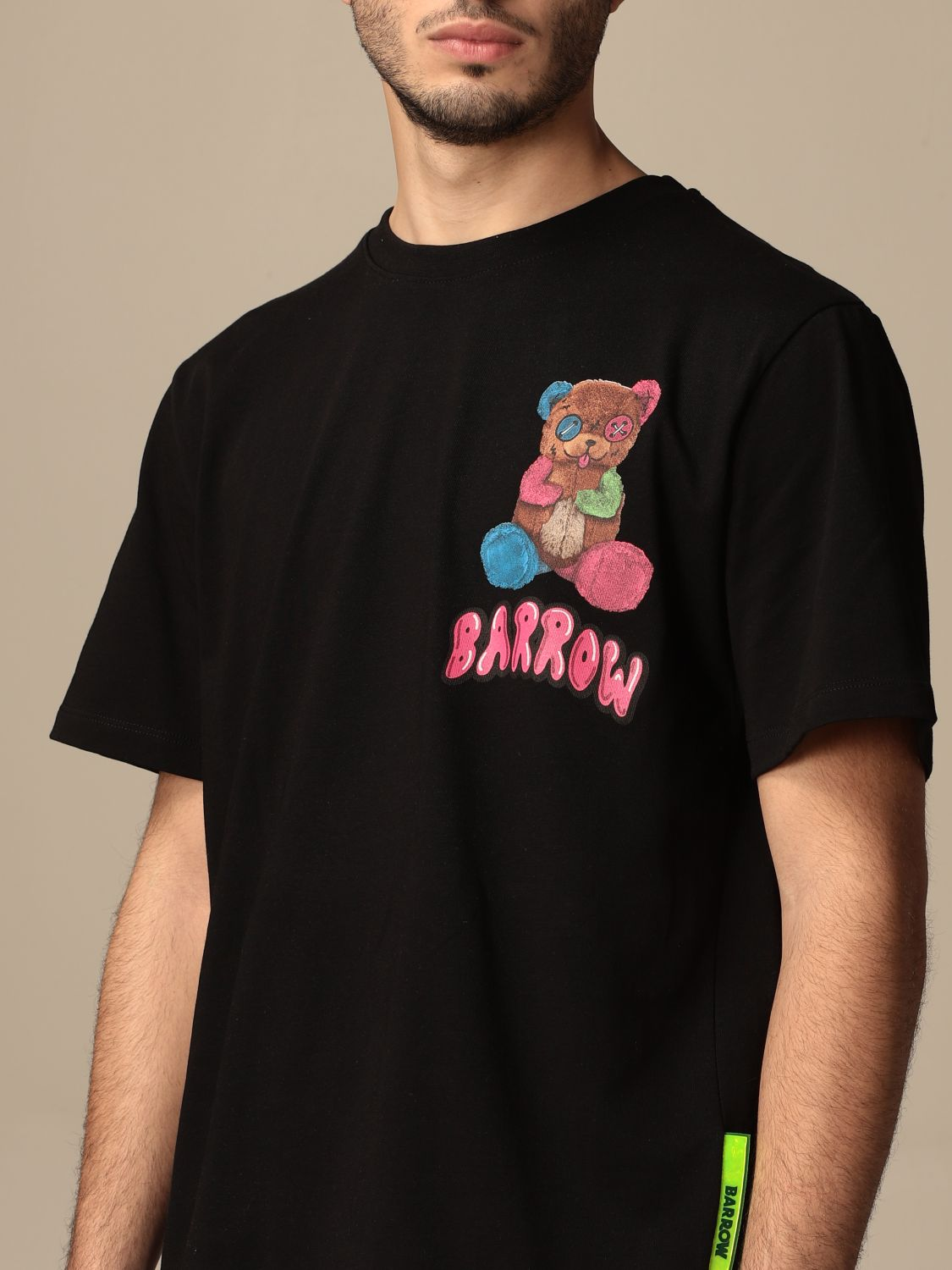 T-shirt Barrow: T-shirt men Barrow black 3