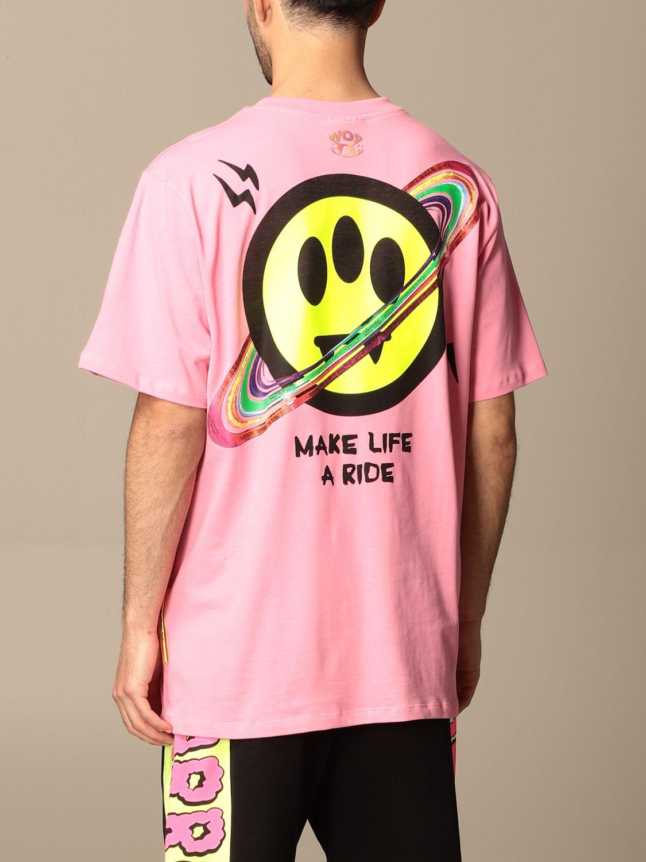 T-shirt Barrow: T-shirt homme Barrow rose 2