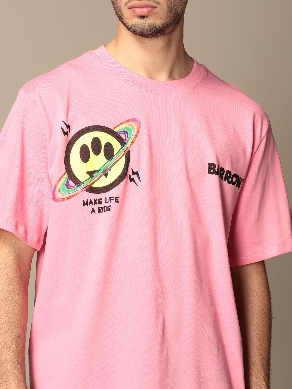 T-shirt Barrow: T-shirt homme Barrow rose 3
