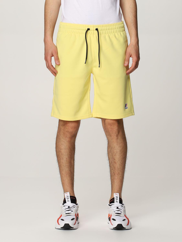 Pantalones cortos K-Way: Pantalones cortos hombre K-way amarillo 1