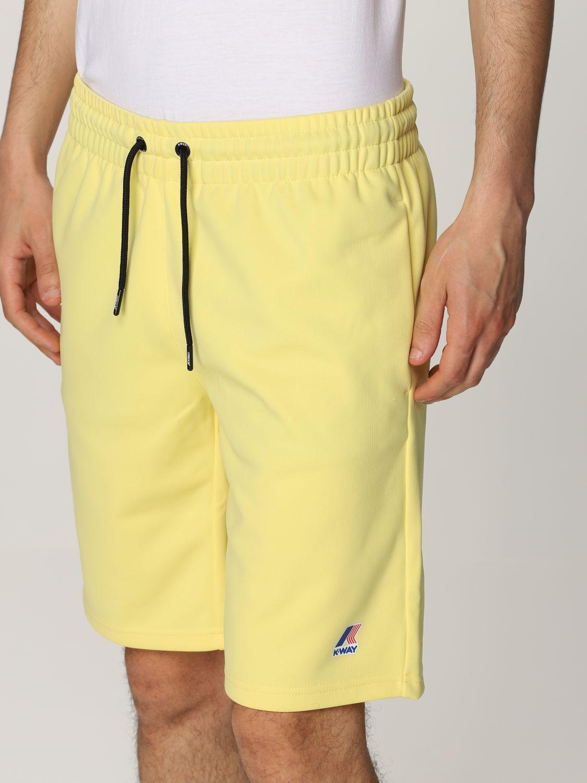 Pantalones cortos K-Way: Pantalones cortos hombre K-way amarillo 4