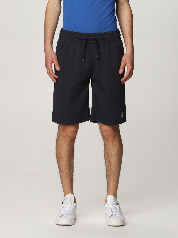Pantalones cortos K-Way: Pantalones cortos hombre K-way azul oscuro 1