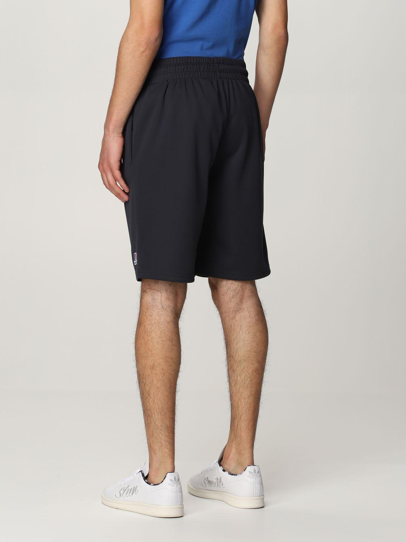 Pantalones cortos K-Way: Pantalones cortos hombre K-way azul oscuro 2