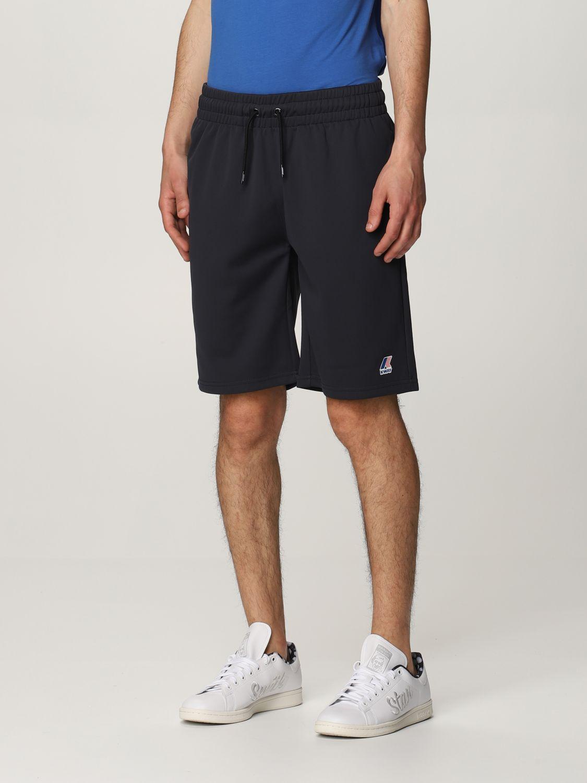 Pantalones cortos K-Way: Pantalones cortos hombre K-way azul oscuro 3