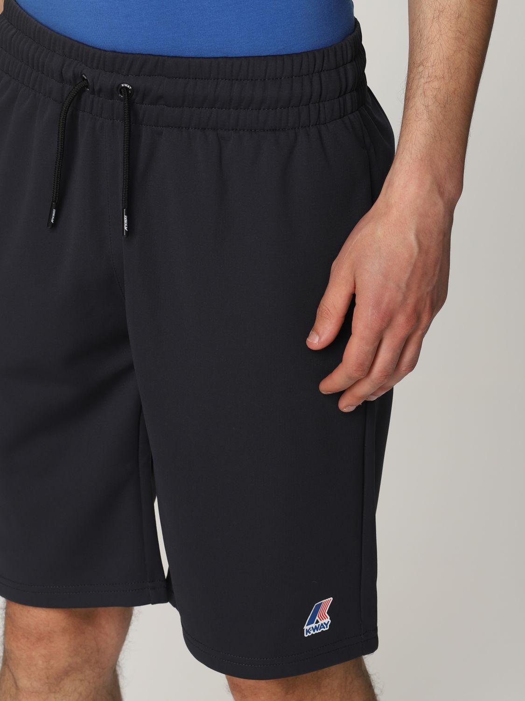 Pantalones cortos K-Way: Pantalones cortos hombre K-way azul oscuro 4
