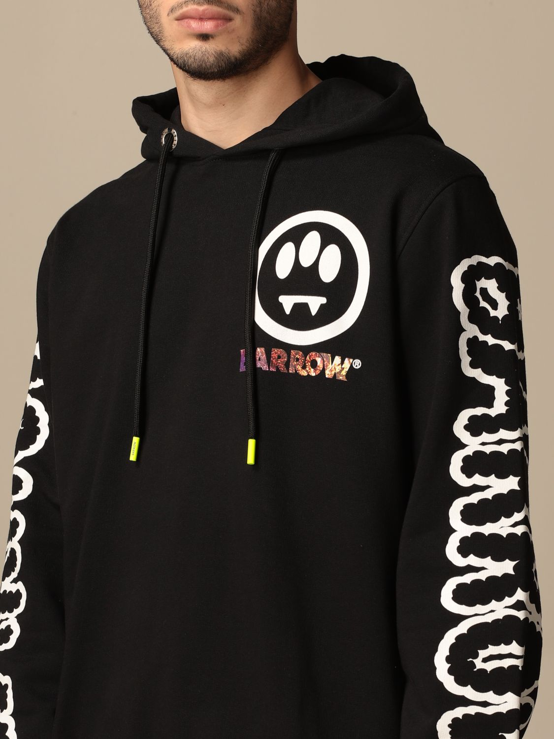 Sweatshirt Barrow: Sweatshirt men Barrow black 3