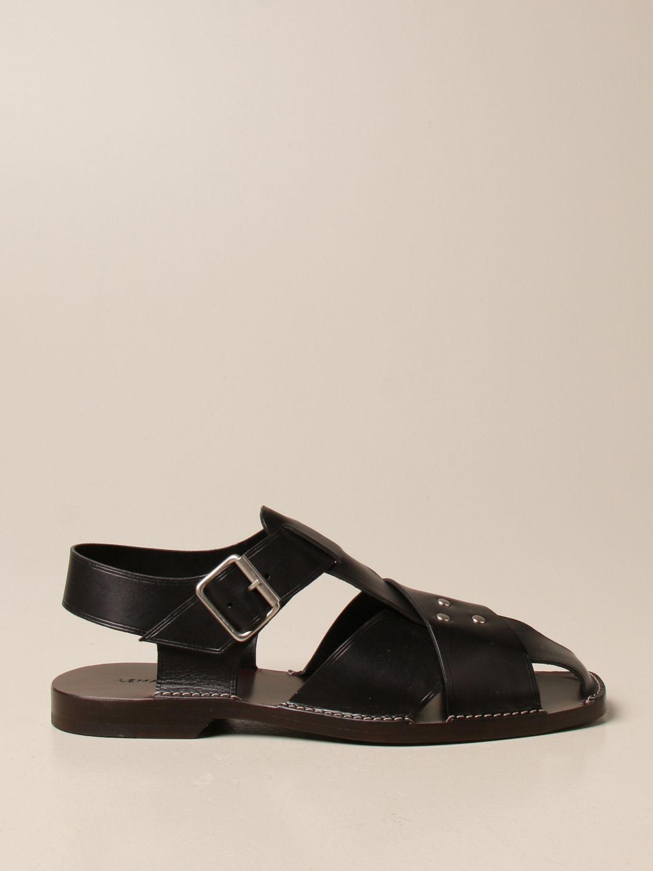 Sandals Lemaire: Sandals men Lemaire black 1