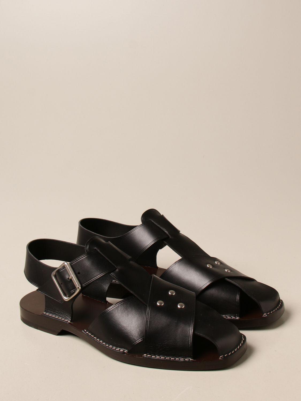 Sandals Lemaire: Sandals men Lemaire black 2