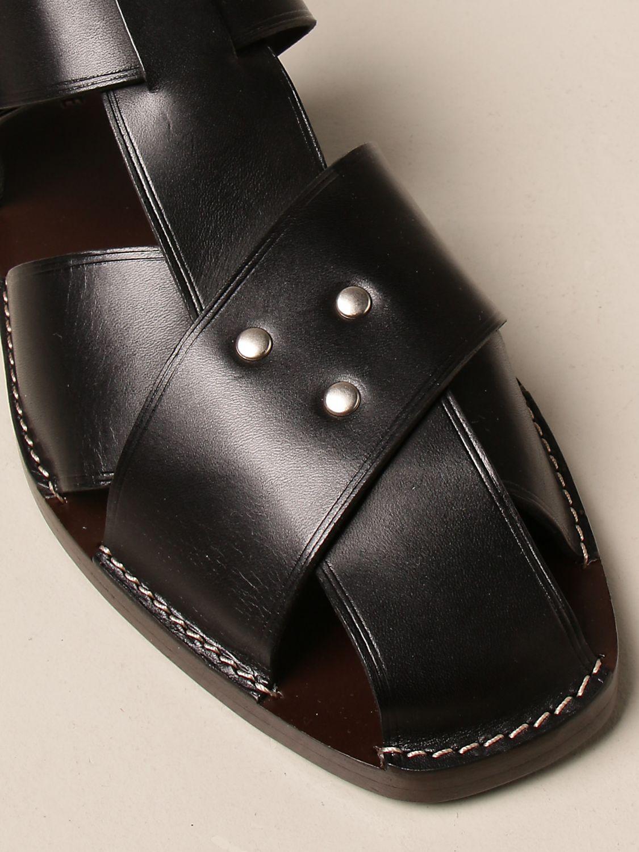 Sandals Lemaire: Sandals men Lemaire black 4