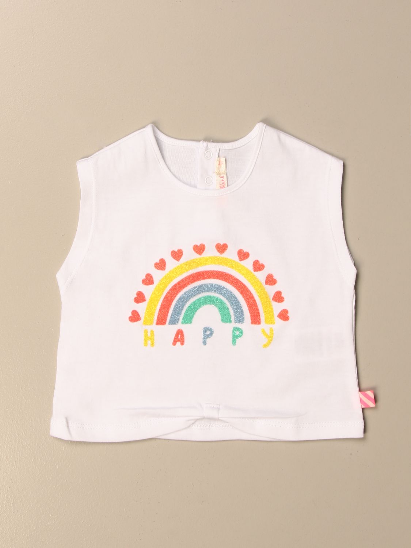 Top Billieblush: Billieblush t-shirt with Happy rainbow multicolor 1