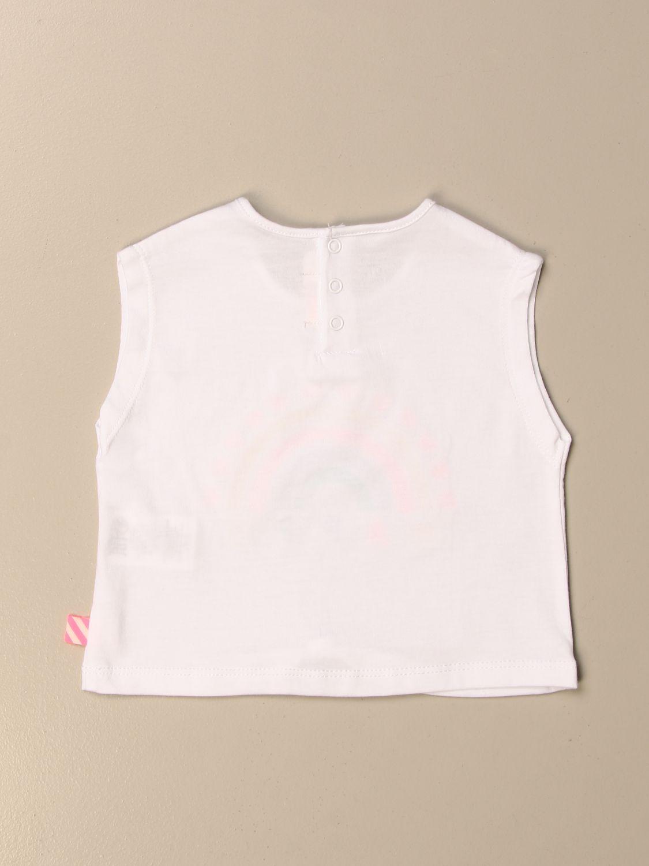 Top Billieblush: Billieblush t-shirt with Happy rainbow multicolor 2
