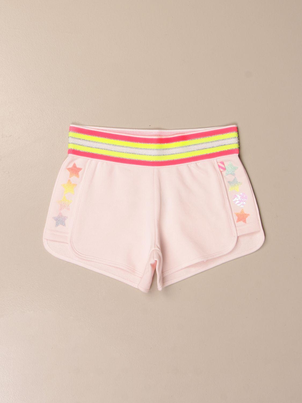 Pantalone Billieblush: Pantaloncino Billieblush con mini stelle rosa 1