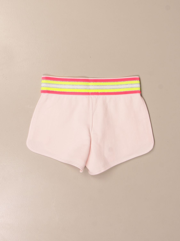 Pantalone Billieblush: Pantaloncino Billieblush con mini stelle rosa 2