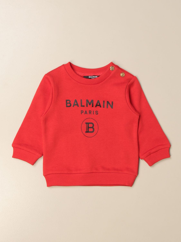 Jersey Balmain: Jersey niños Balmain rojo 1