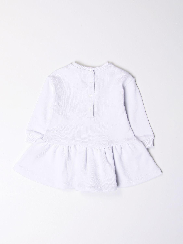 Romper Balmain: Balmain dress with logo white 2