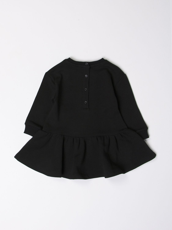 Romper Balmain: Balmain dress with logo black 2