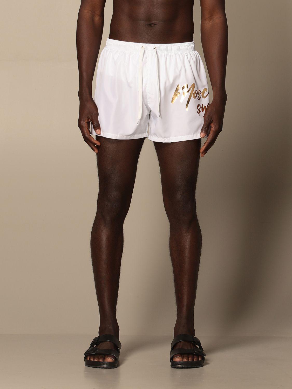 Swimsuit Boutique Moschino: Moschino Boutique boxer costume white 1