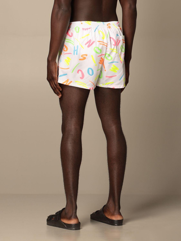 Swimsuit Boutique Moschino: Moschino Boutique printed boxer costume white 2