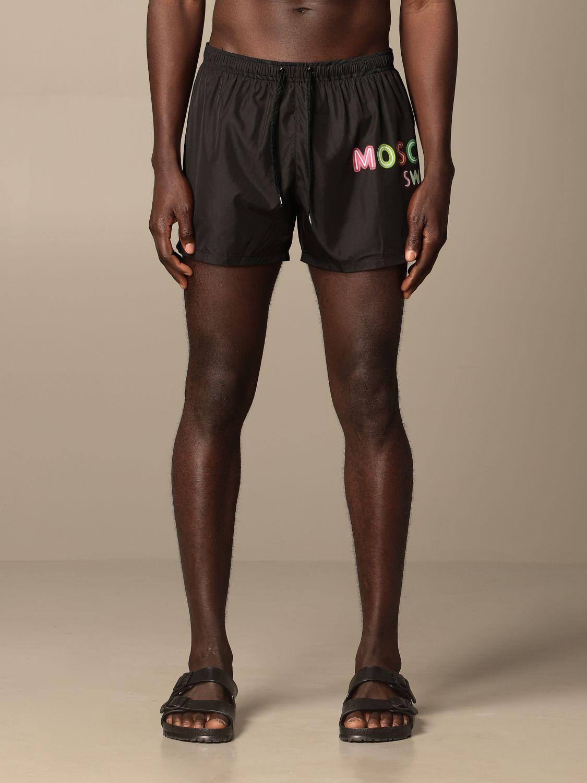 Swimsuit Boutique Moschino: Moschino Boutique boxer costume black 1