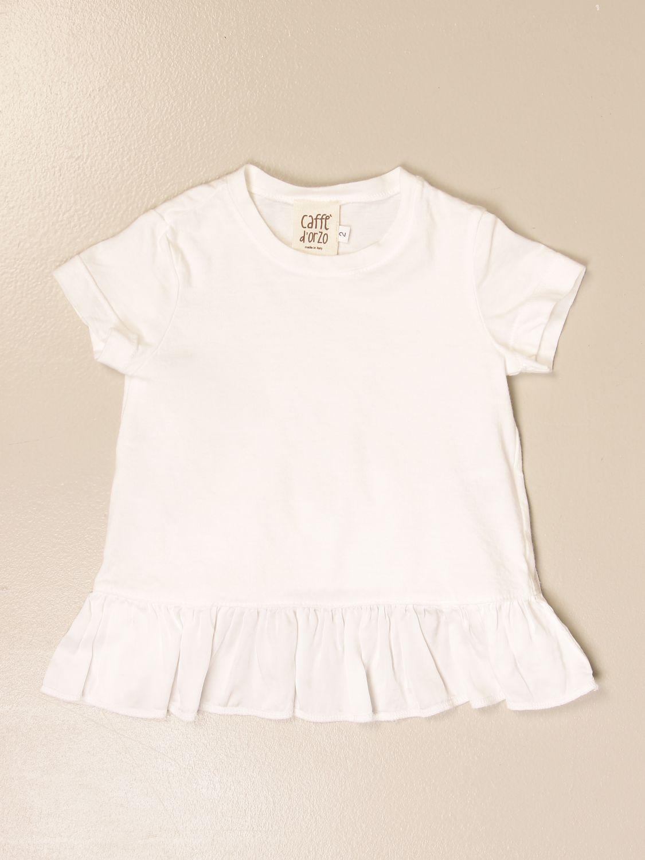 Camisetas Caffe' D'orzo: Camisetas niños Caffe' D'orzo rosa pálido 1