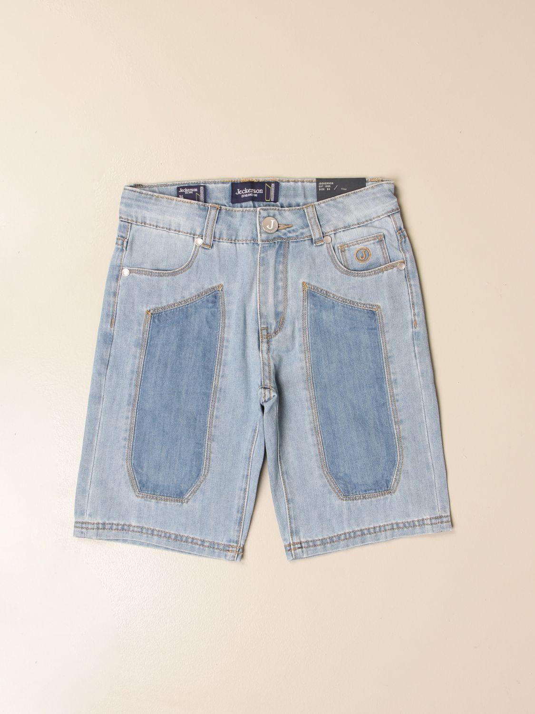 Shorts Jeckerson: Jeckerson 5-pocket denim shorts denim 1