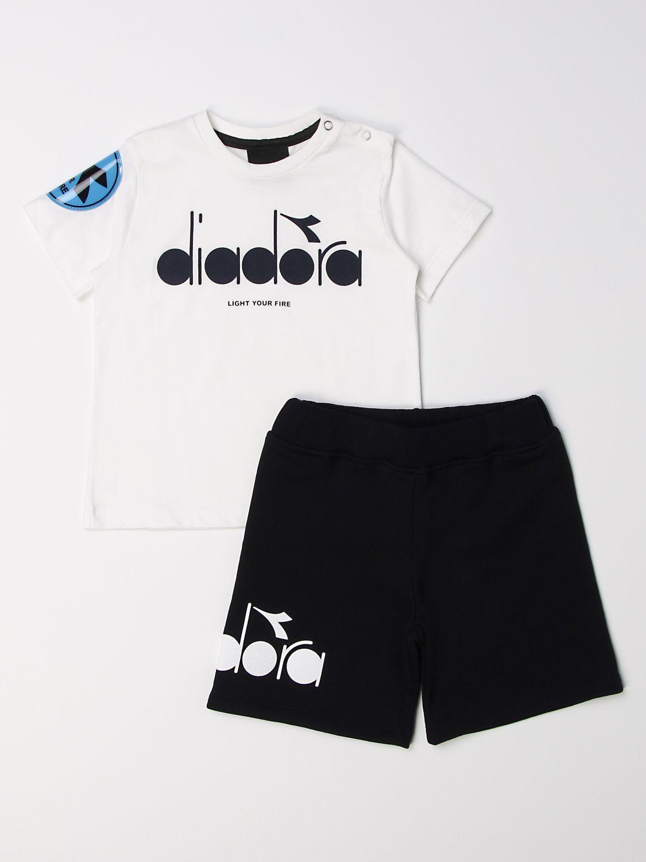 Костюмчик Diadora: Костюмчик Детское Diadora белый 1