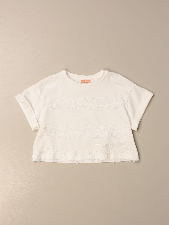 T-shirt Elisabetta Franchi: T-shirt enfant Elisabetta Franchi ivoir 1
