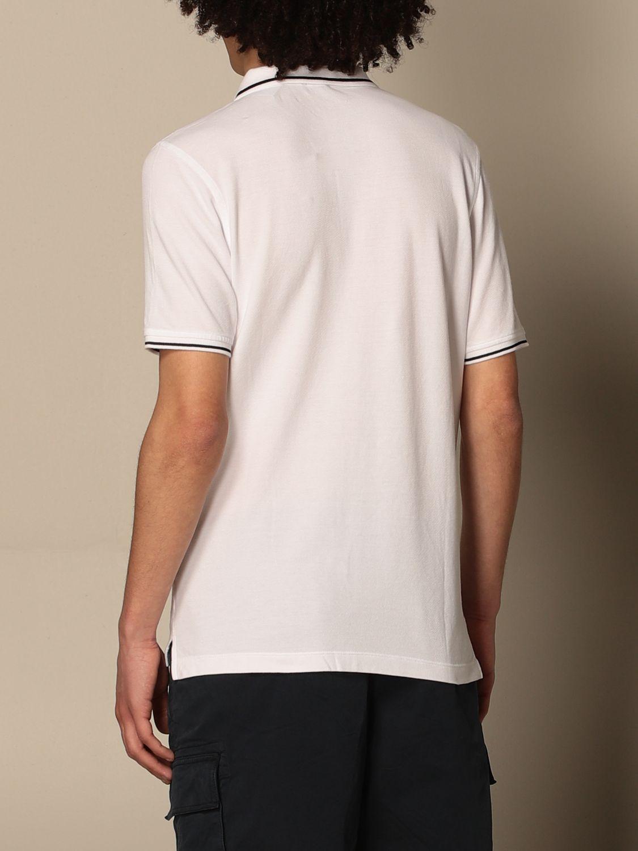 Polo shirt Blauer: Blauer cotton polo shirt with logo white 2