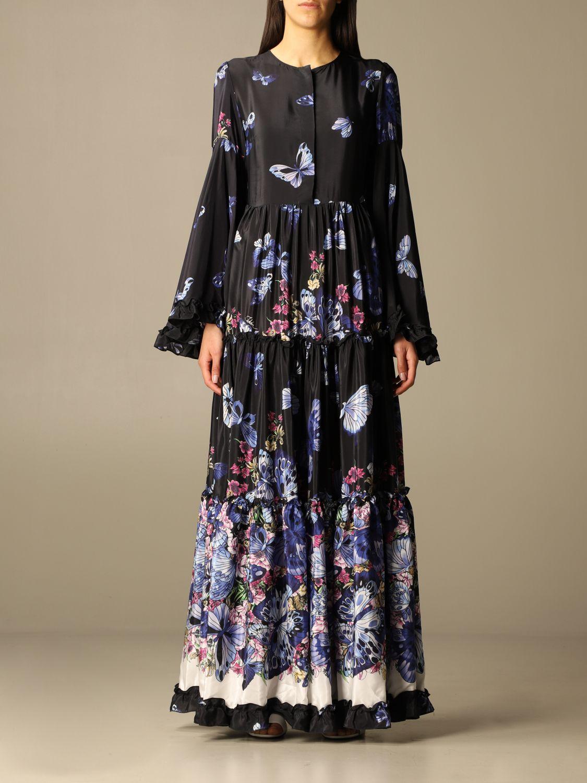 连衣裙 Idda: 连衣裙 女士 Idda 蓝色 1