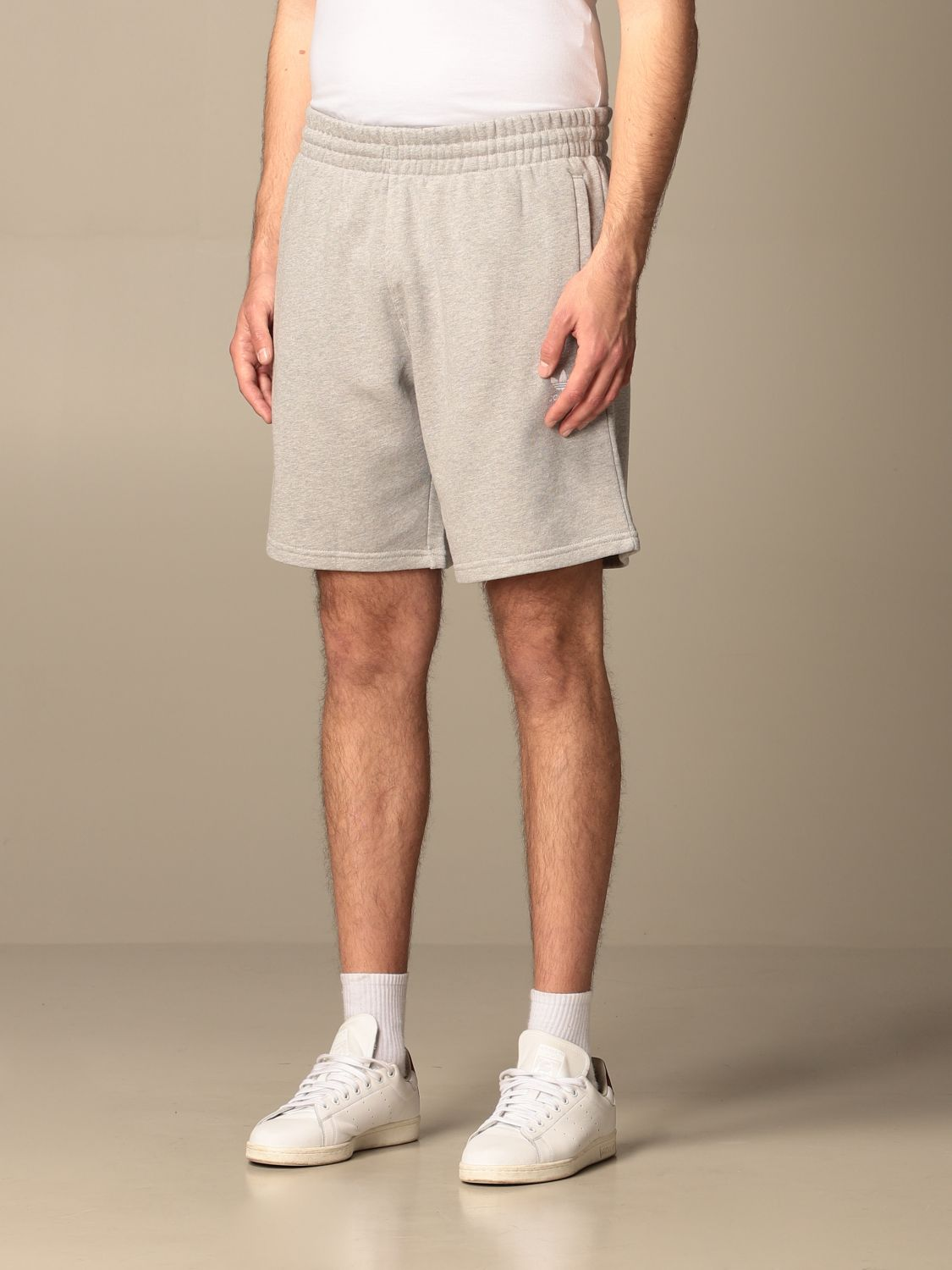 Short Adidas Originals: Adidas Originals jogging shorts with logo grey 3