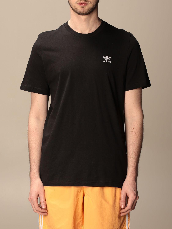 T-shirt Adidas Originals: T-shirt basic Adidas Originals con logo nero 1