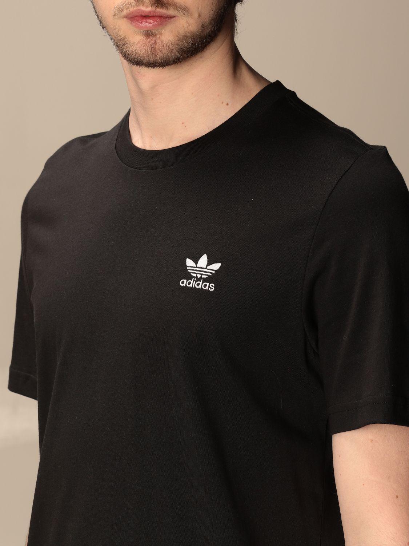 T-shirt Adidas Originals: T-shirt basic Adidas Originals con logo nero 3