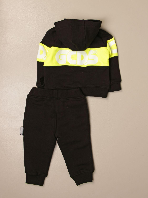 Jumpsuit Gcds: Gcds sweatshirt + jogging pants set with logo black 2