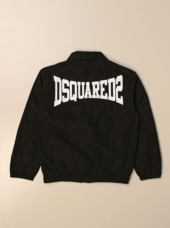 Chaqueta Dsquared2 Junior: Chaqueta niños Dsquared2 Junior negro 2
