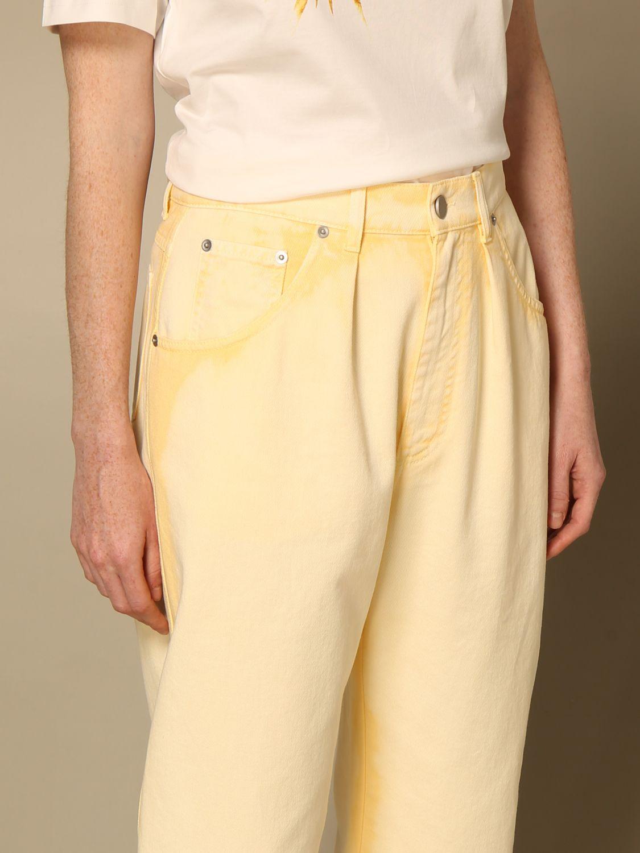 Jeans Alberta Ferretti: Pantalon femme Alberta Ferretti jaune 5