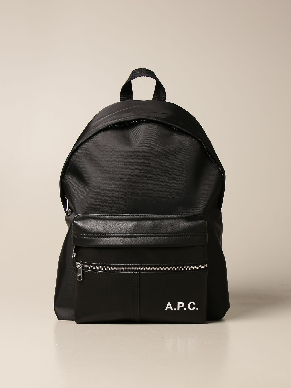 Backpack A.p.c.: Bags men A.p.c. black 1