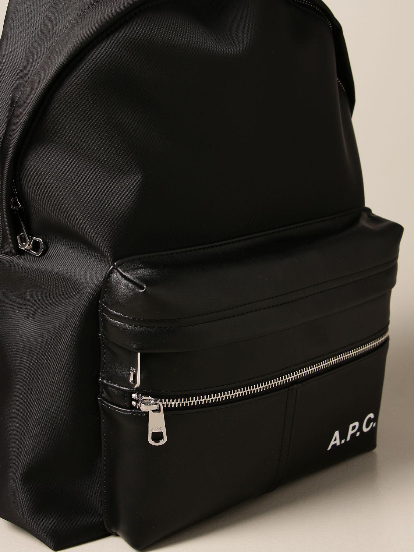 Backpack A.p.c.: Bags men A.p.c. black 3