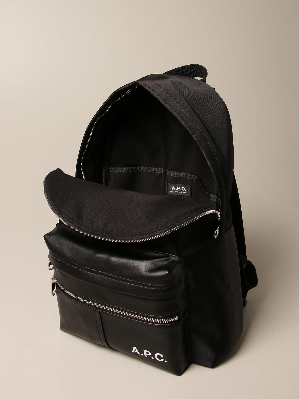 Backpack A.p.c.: Bags men A.p.c. black 4
